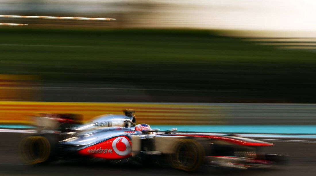 Jenson Button - Formel 1 - GP Abu Dhabi - 02. November 2013