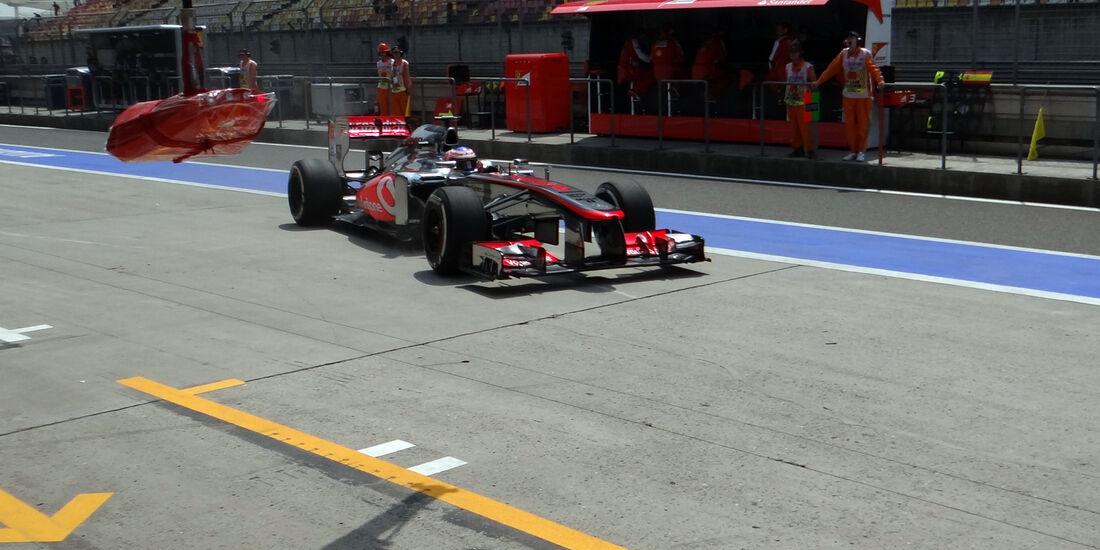 Jenson Button - Formel 1 - GP China - 12. April 2013