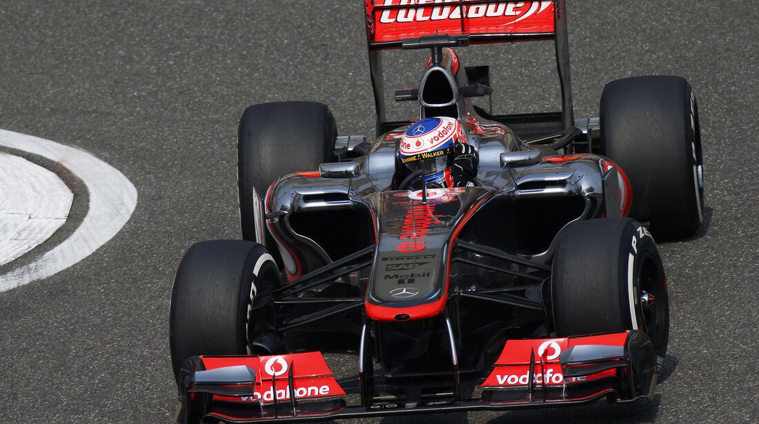 Jenson Button - Formel 1 - GP China - 14. April 2013