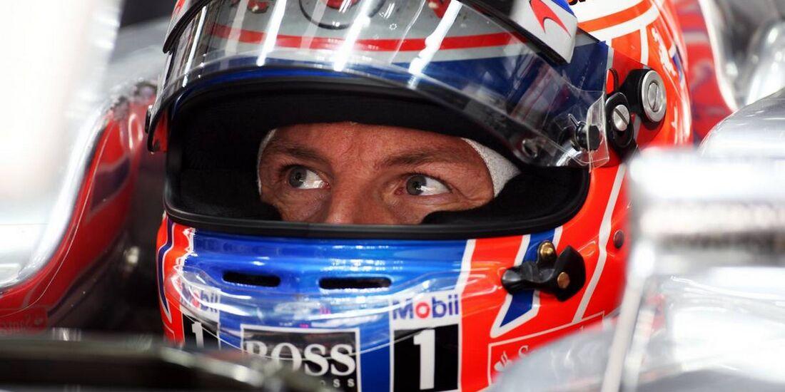 Jenson Button - Formel 1 - GP Indien - 26. Oktober 2012