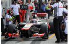 Jenson Button - Formel 1 - GP Italien - 08. September 2012