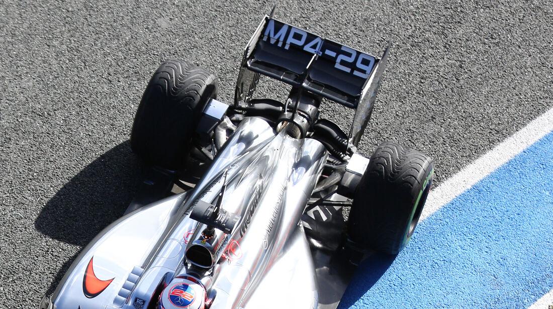 Jenson Button - Formel 1 - Test - Jerez - 29. Januar 2014