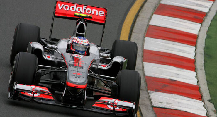 Jenson Button - GP Australien 2011