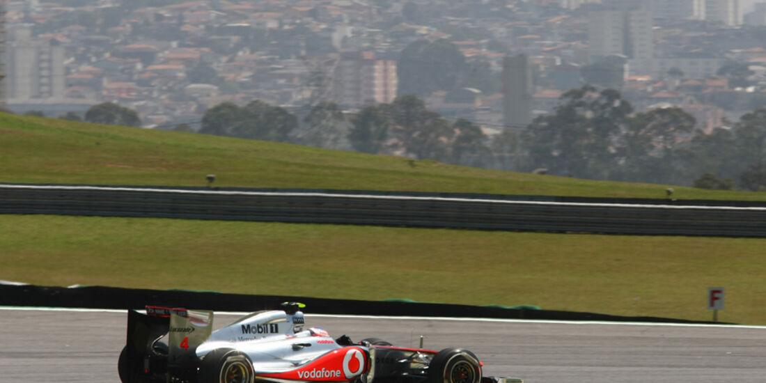Jenson Button - GP Brasilien - 25. November 2011