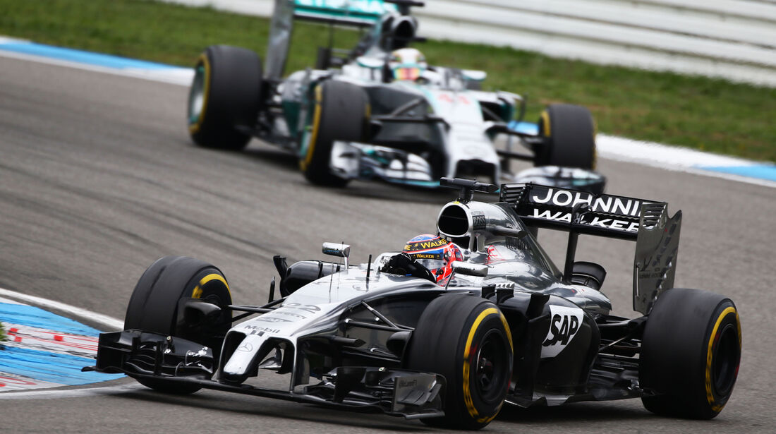 Jenson Button - GP Deutschland 2014