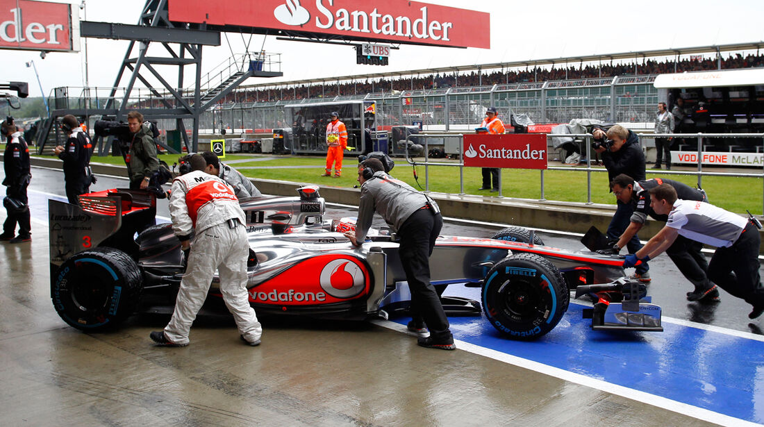 Jenson Button GP England 2012