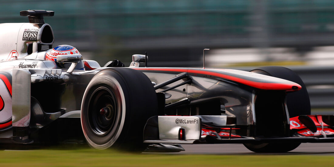 Jenson Button - GP Indien 2013