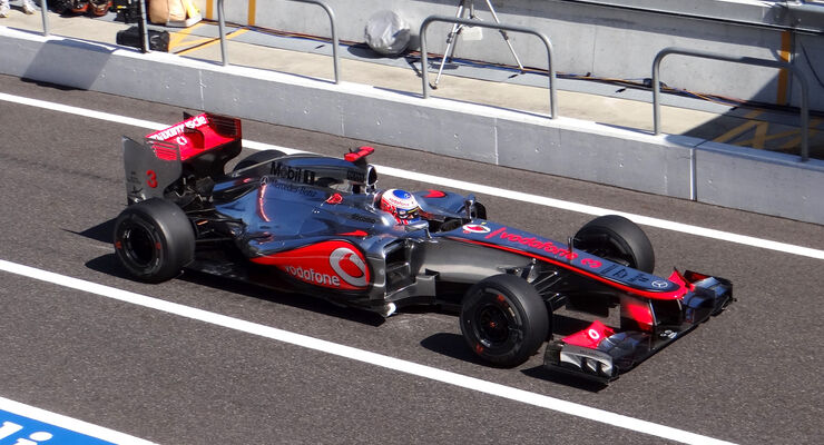 Jenson Button GP Japan 2012