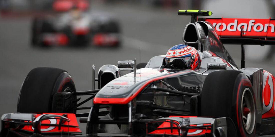Jenson Button GP Kanada 2011
