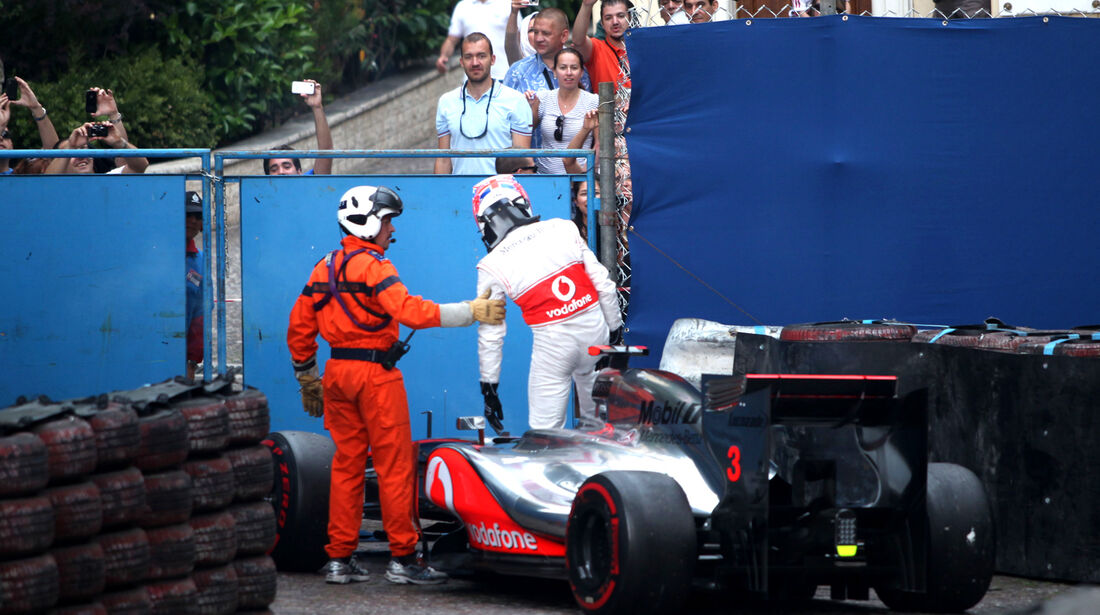 Jenson Button - GP Monaco 2012