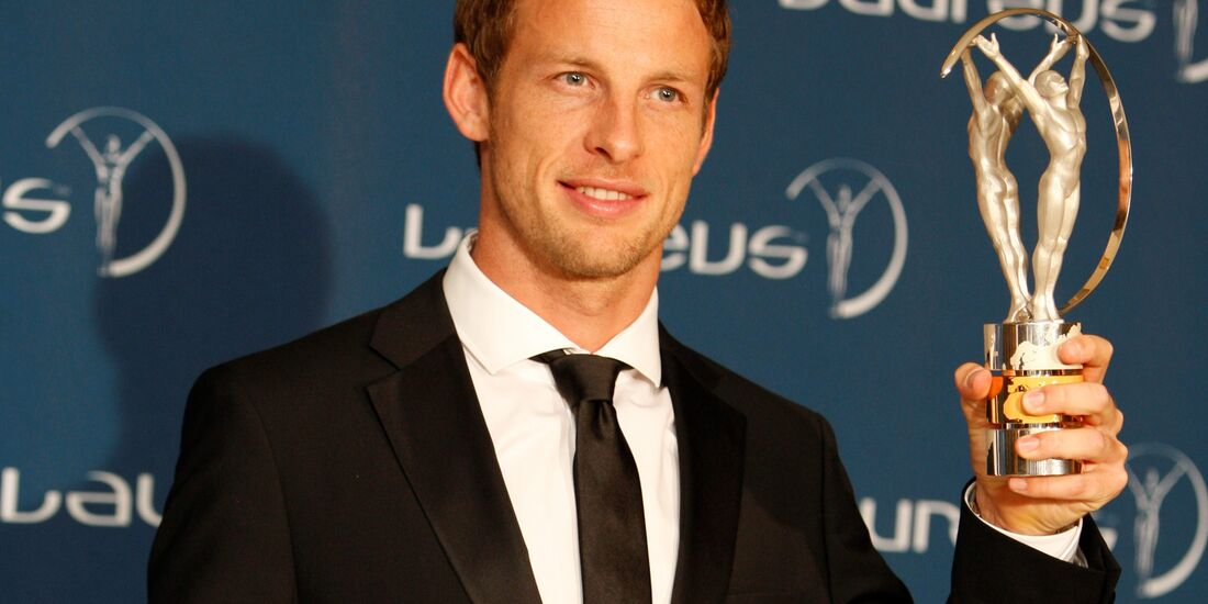 Jenson Button Laureus