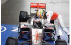 Jenson Button - Lewis Hamilton - McLaren - GP China 2010
