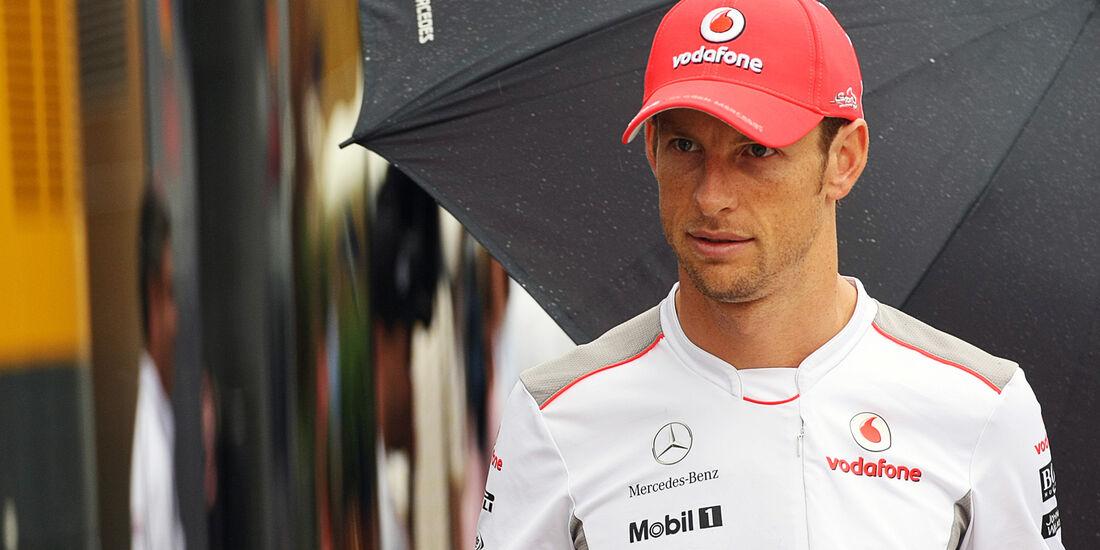 Jenson Button - McLaren - Formel 1 - Budapest - GP Ungarn - 26. Juli 2012