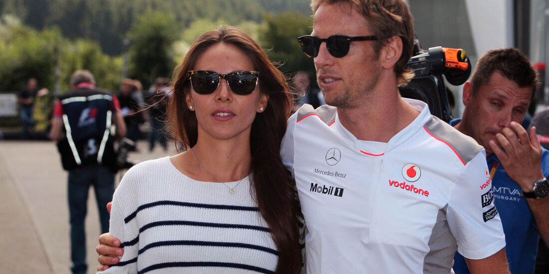 Jenson Button - McLaren - Formel 1 - GP Belgien - Spa - 30.8.2012