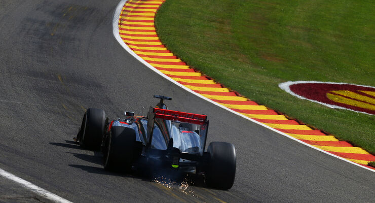 Jenson Button - McLaren - Formel 1 - GP Belgien - Spa-Francorchamps - 23. August 2013