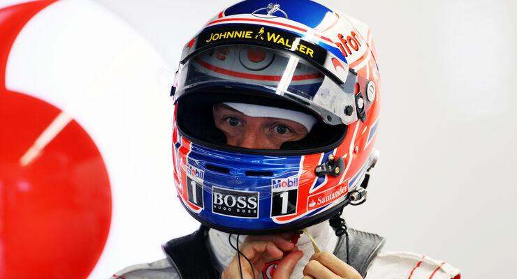 Jenson Button - McLaren - Formel 1 - GP Kanada 2012 - 8. Juni 2012