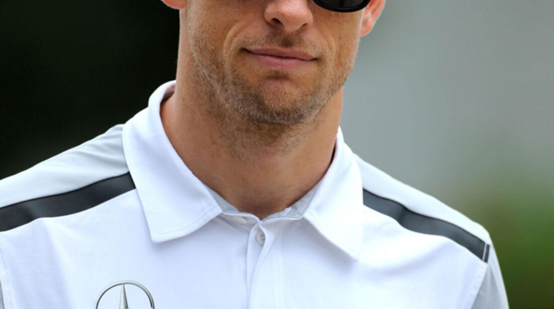 Jenson Button - McLaren - Formel 1 - GP Malaysia - Sepang - 27. März 2014