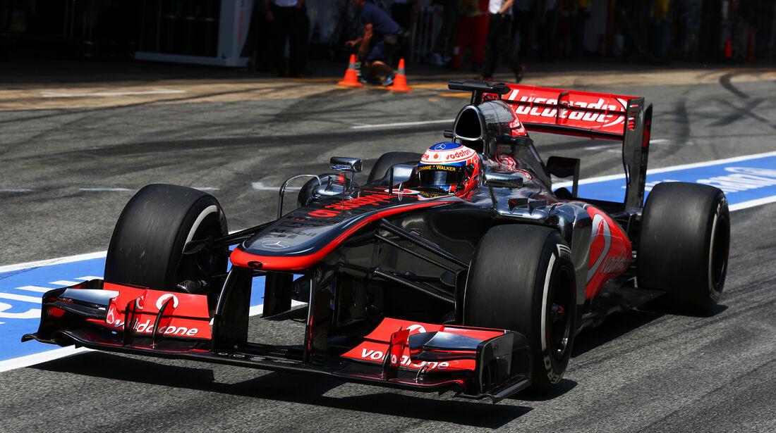 Jenson Button - McLaren - Formel 1 - GP Spanien - 11. Mai 2013