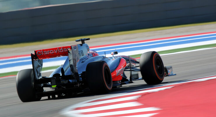 Jenson Button - McLaren - Formel 1 - GP USA - 15. November 2013