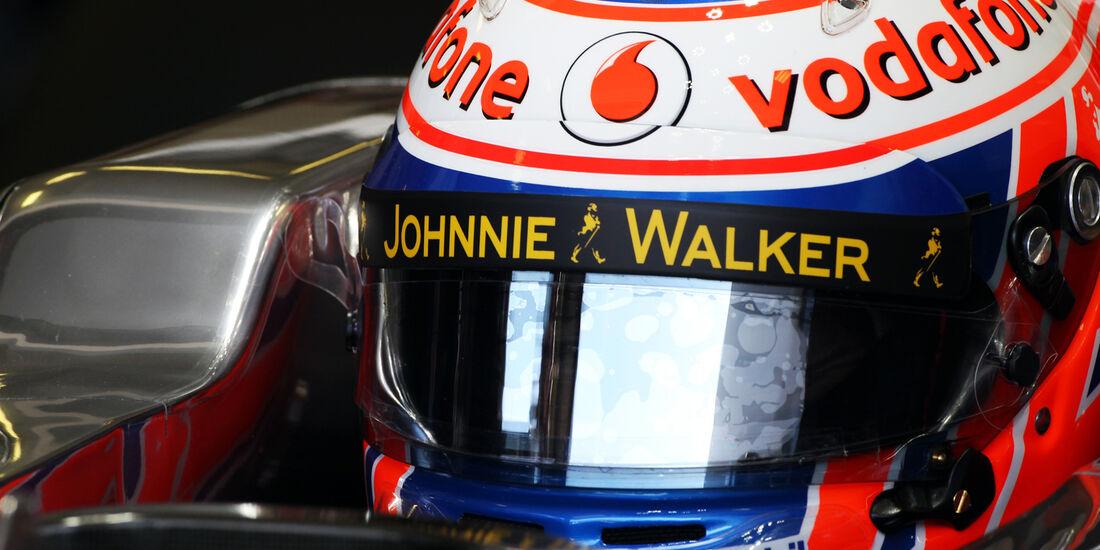 Jenson Button - McLaren - Formel 1 - GP Ungarn - 26. Juli 2013