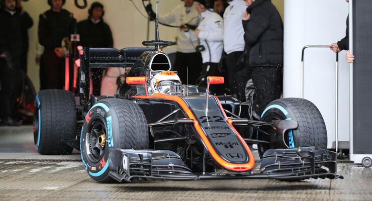 Jenson Button - McLaren - Formel 1-Test - Jerez - 2. Februar 2015