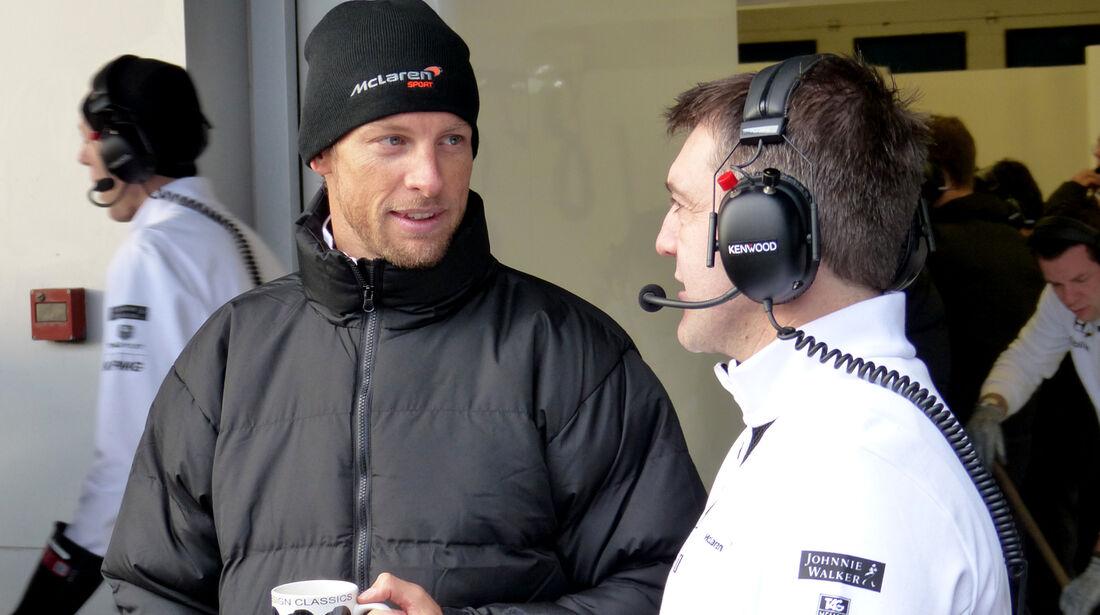 Jenson Button - McLaren - Formel 1-Test - Jerez - 3. Februar 2015
