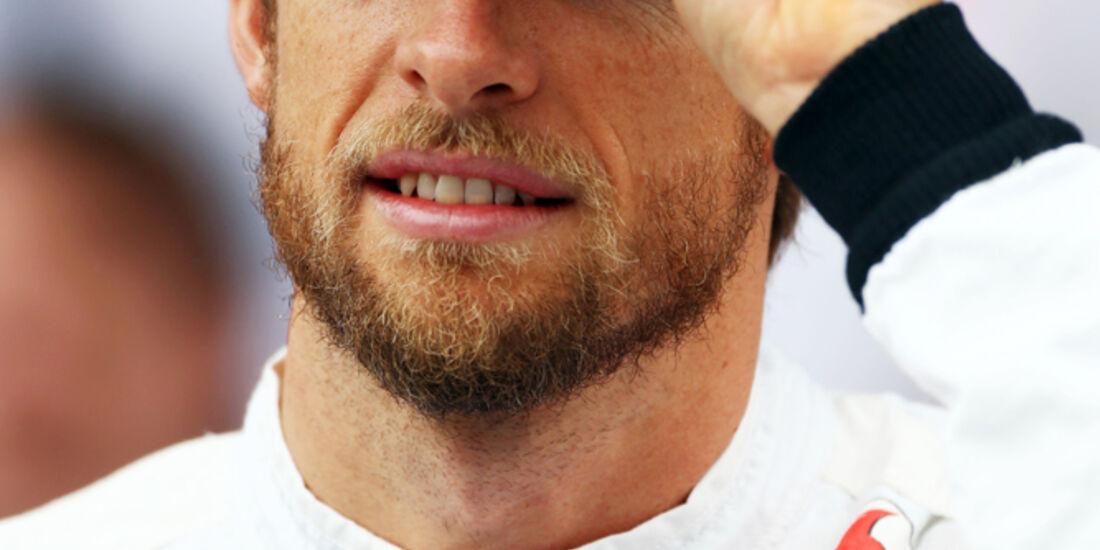 Jenson Button - McLaren - GP Brasilien - 23. November 2013
