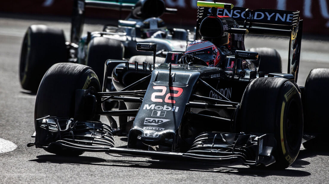 Jenson Button - McLaren-Honda - GP Mexiko 2016