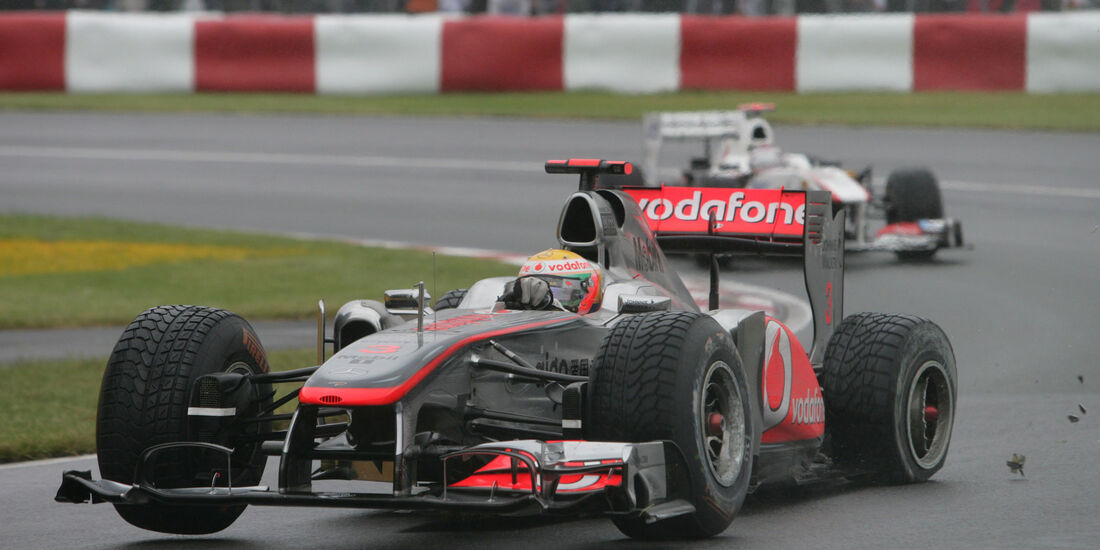 Jenson Button - McLaren MP4/26- GP Kanada 2011