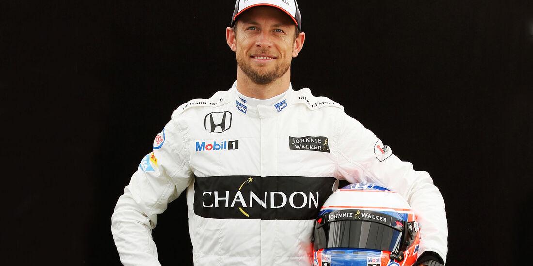 Jenson Button - McLaren - Porträt - Formel 1 - 2016