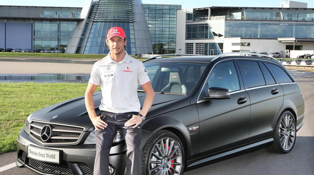 Jenson Button - Mercedes AMG C63 DR520 - Privatautos