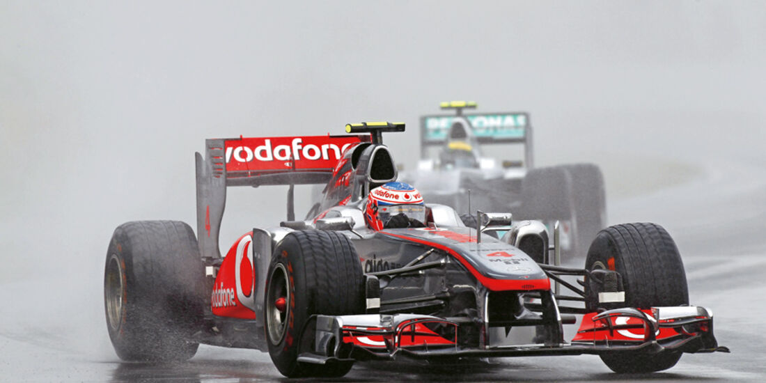 Jenson Button beim GP Kanade