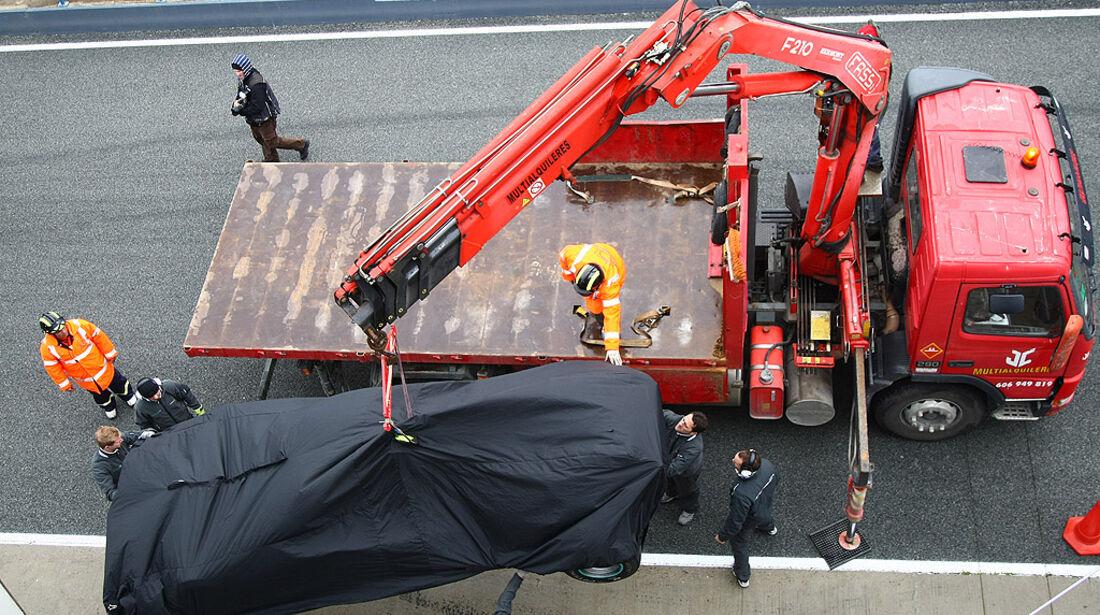 Jerez F1-Test Tag 3