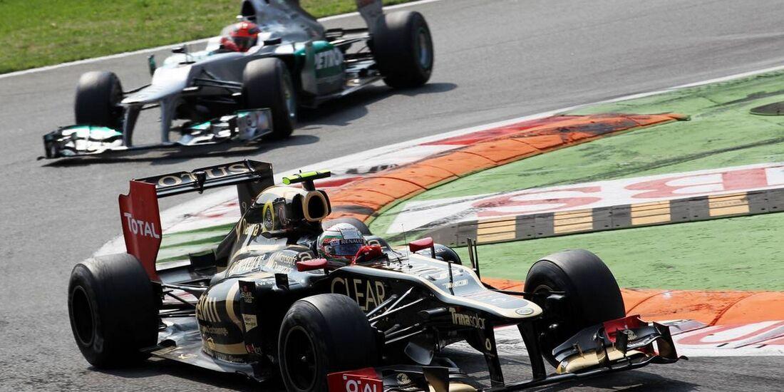 Jerome D'Ambrosio - Formel 1 - GP Italien - 09. September 2012