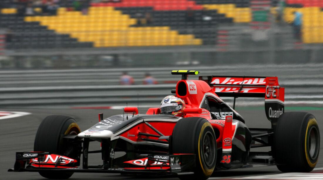 Jerome D'Ambrosio GP Korea 2011