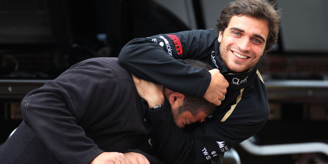 Jerome D'Ambrosio - Lotus - Formel 1-Test - Mugello - 3. Mai 2012