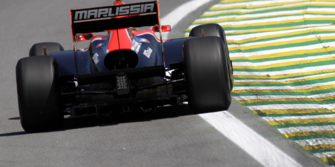 Jerome D'Ambrosio Virgin GP Brasilien 2011