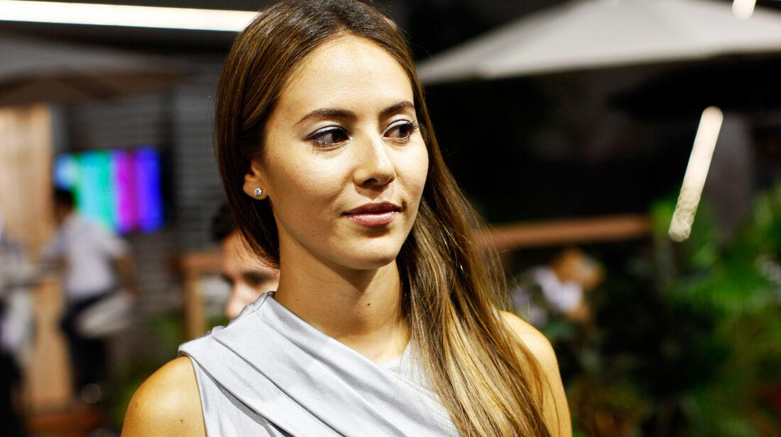 Jessica Michibata - Formel 1 - GP Singapur - 21. September 2013