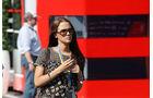 Jessica Michibata (Freundin von Jenson Button) - Formel 1 - GP Deutschland - 6. Juli 2013