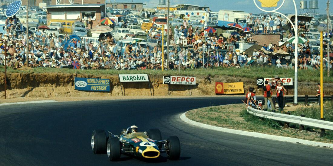 Jim Clark - GP Südafrika - Formel 1 - 1968