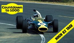 Jim Clark - Lotus 49 - GP Frankreich 1967