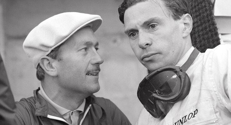 Jim Clark und Colin Chapman
