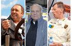Jochen Mass, Stig Blomqvist, Walter Röhrl beim 40. AvD-Oldtimer-Grand Prix