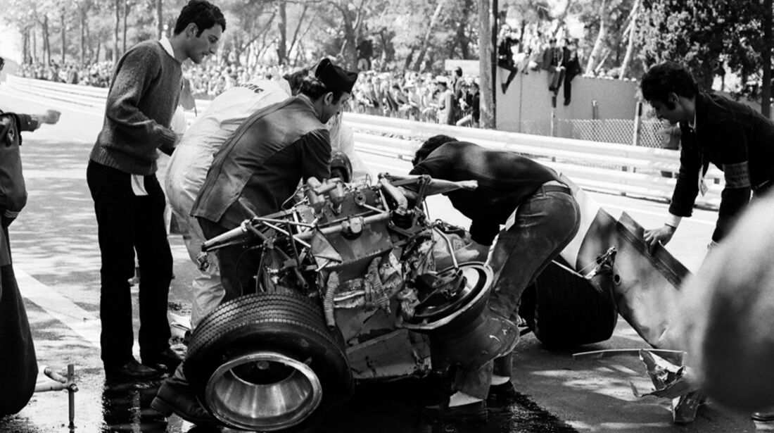 Jochen Rindt Crash 1970