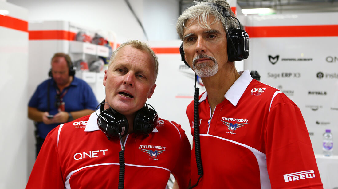 Johnny Herbert & Damon Hill - Formel 1 - GP Singapur - 19. September 2014