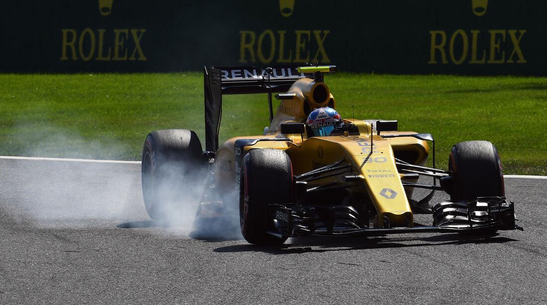 Jolyon Palmer - Renault - Formel 1 - GP Belgien - Spa-Francorchamps - 27. August 2016