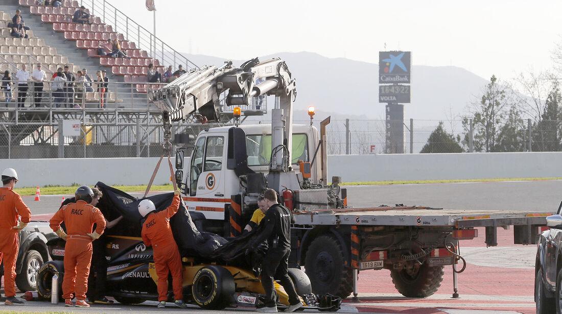 Jolyon Palmer - Renault - Formel 1 - Test - Barcelona - 9. März 2017