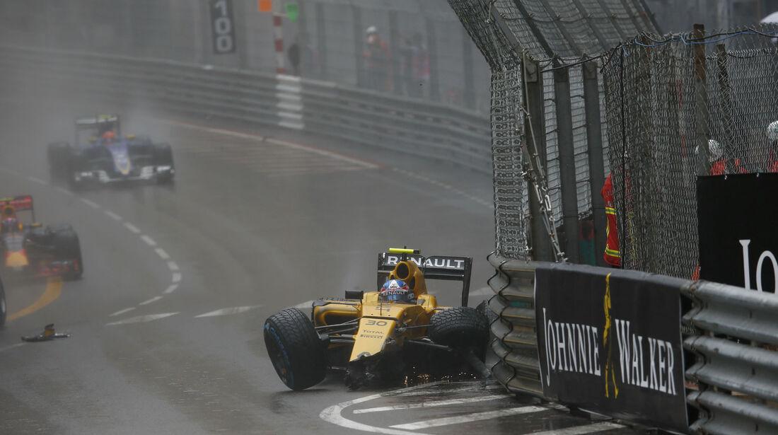 Jolyon Palmer - Renault - GP Monaco 2016