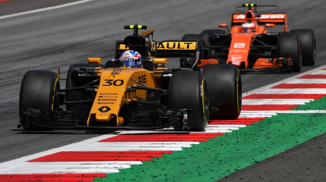 Jolyon Palmer - Renault - GP Österreich 2017 - Spielberg - Rennen