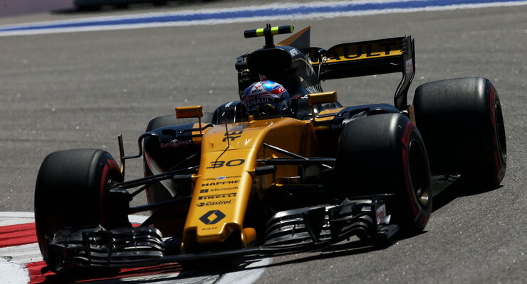 Jolyon Palmer - Renault - GP Russland 2017 - Freitag